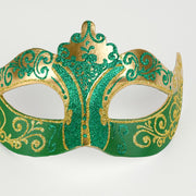 Detail eye_mask_stella_gold_green