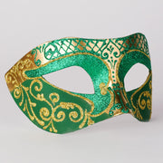 Profile eye_mask_settecento_brill_gold_green
