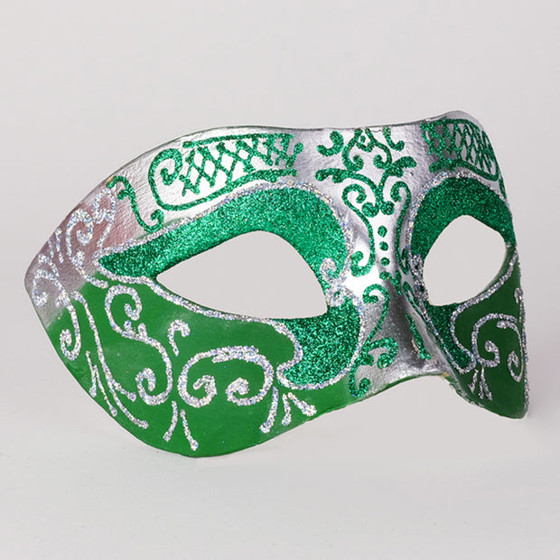 Profile eye_mask_settecento_brill_silver_green