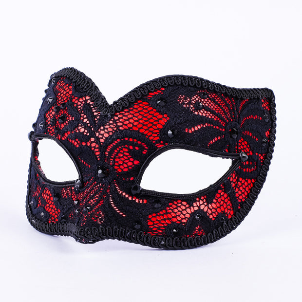 Profile eye_mask_macrama_ballo_pizzo_black_red