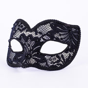 Profile eye_mask_macrama_ballo_pizzo_silver_black