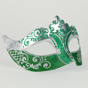 Profile eye_mask_stella_silver_green
