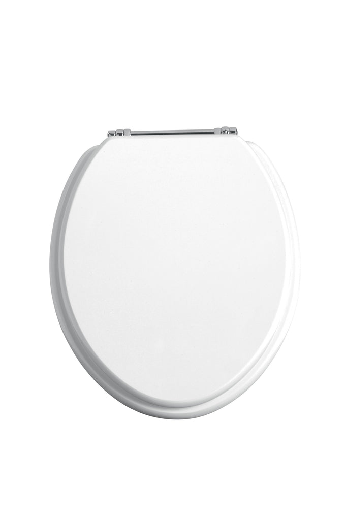 HB - Toilet Seat White / Chrome