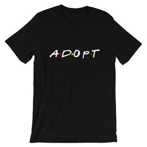 Adopt | Friends | T-Shirt - Black