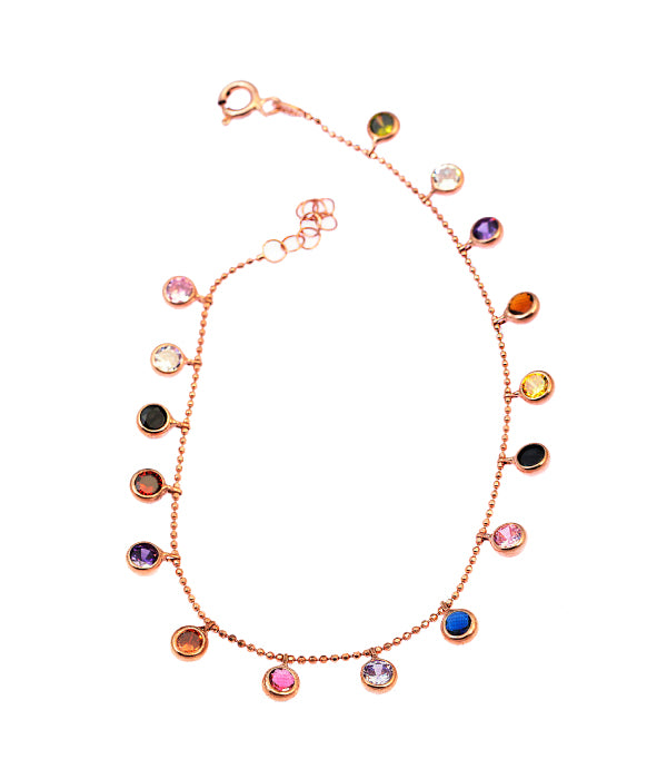 Begna Multi-Coloured Anklet