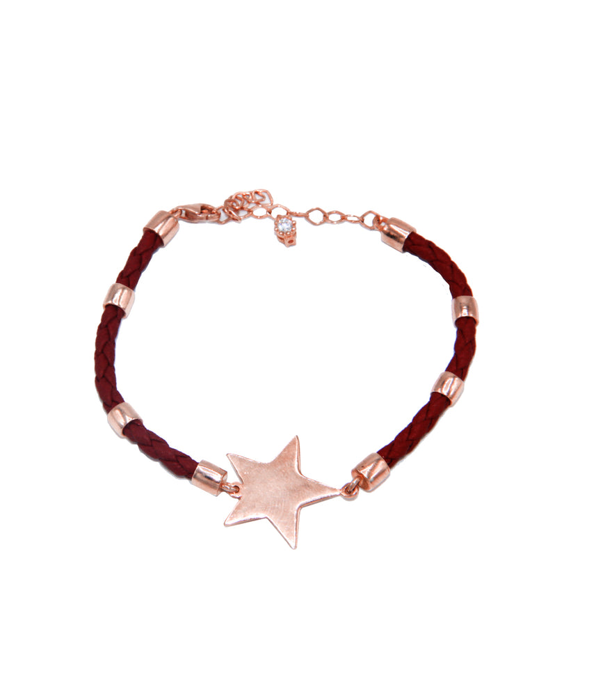 Begna Star Leather Bracelet