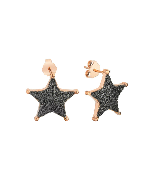 Shiny Star Earrings