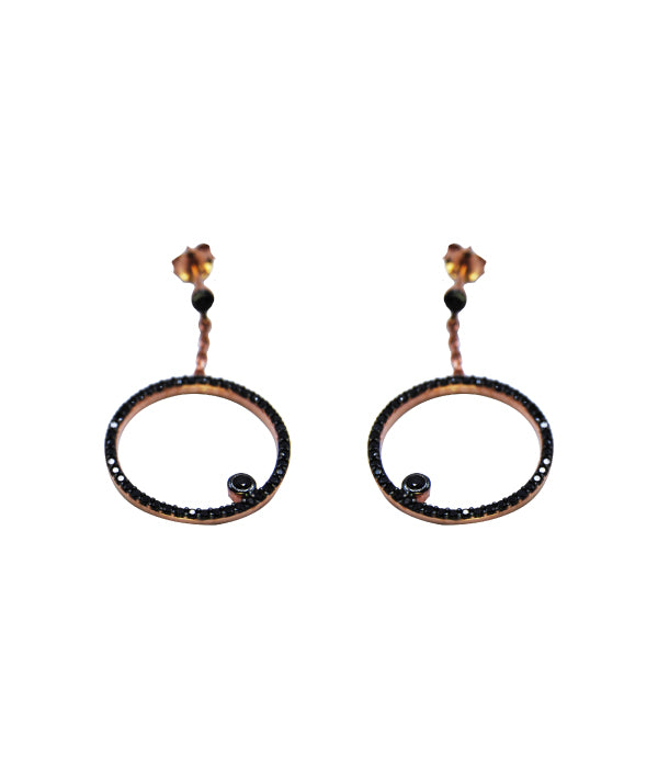 Begna Round Earrings