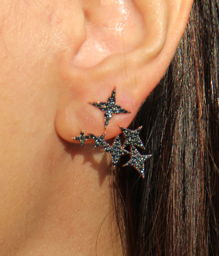 Begna Model North Star Earrings