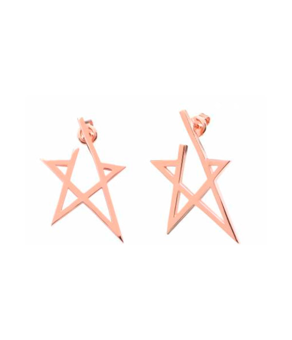 Begna Gold Star Earrings