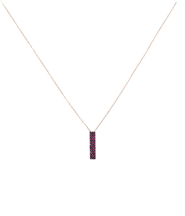 Deep Rose Necklace