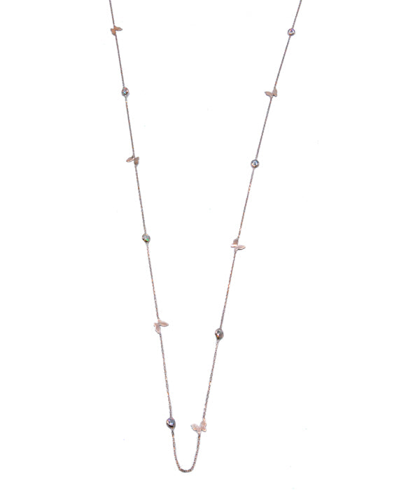 Begna Sky Necklace with Butterfly