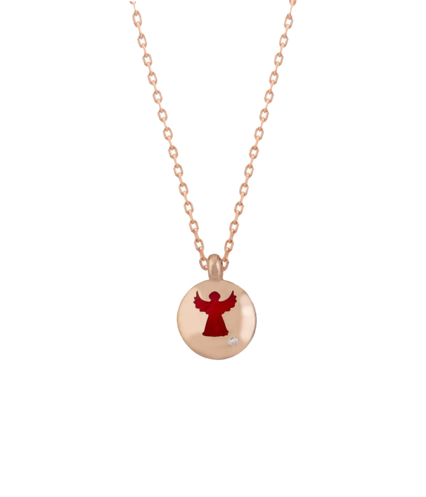 Red Angel Necklace