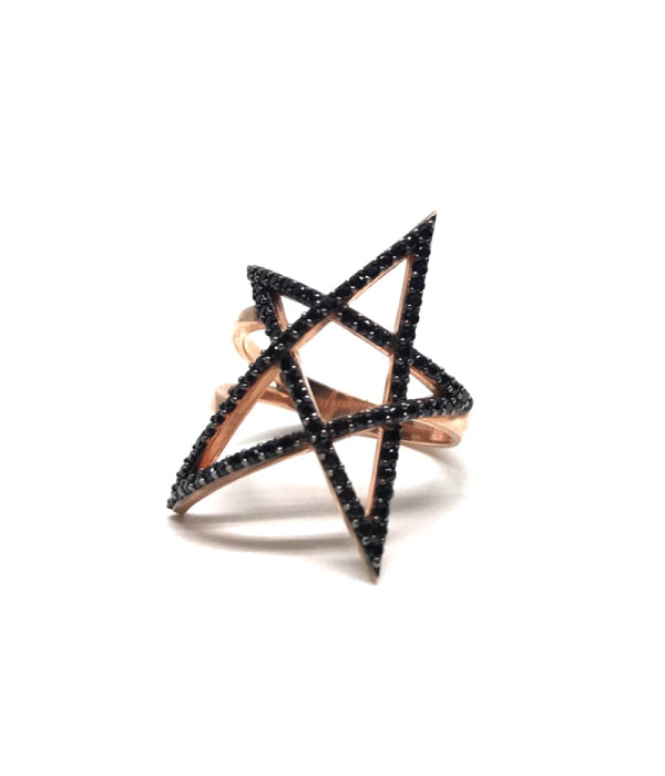 Gold Star Ring