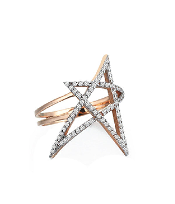 Begna Gold Star Ring