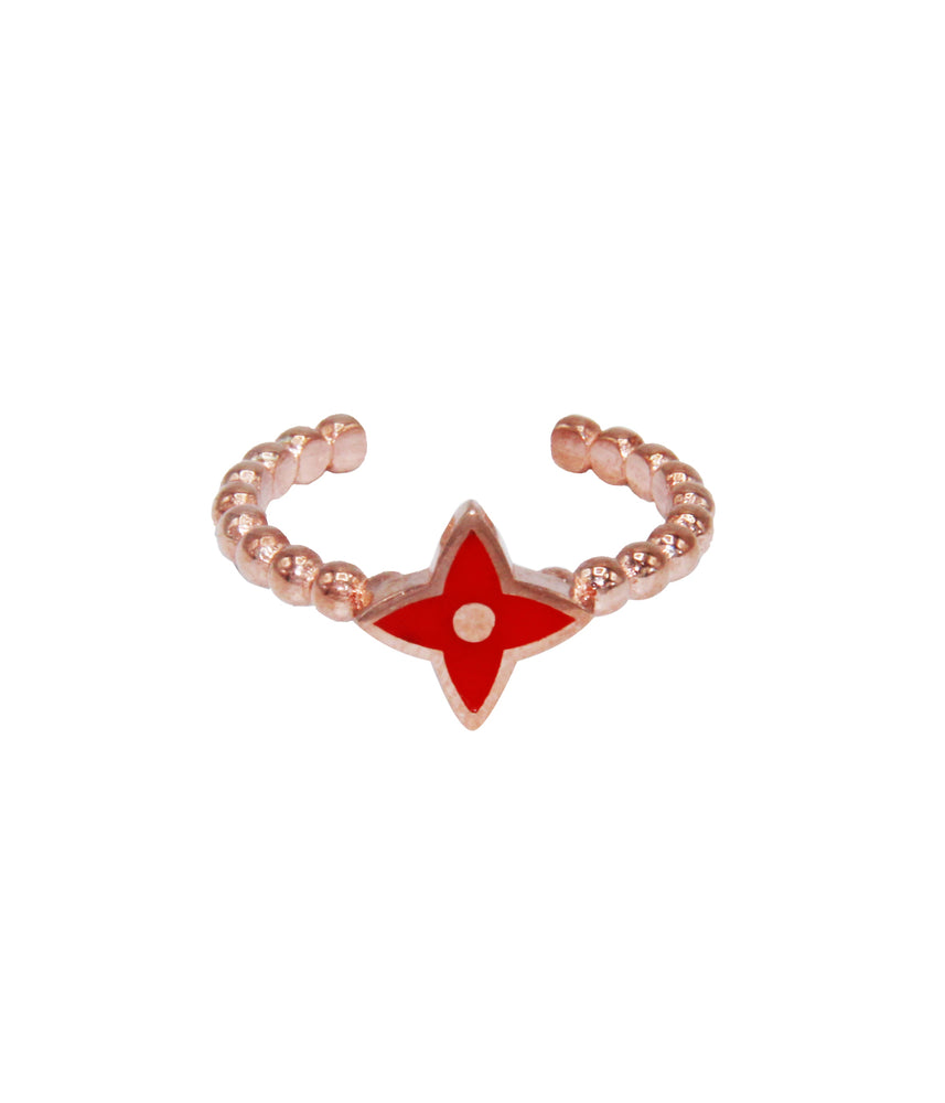 Begna Red Star Xmas Ring