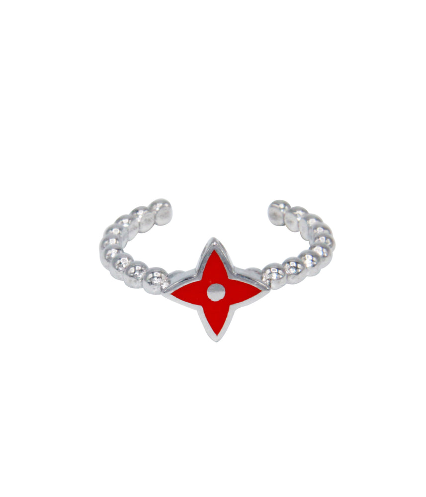 Red Star Xmas Ring