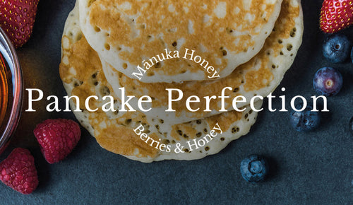 Pancake Perfection: Manuka Honey & Berries