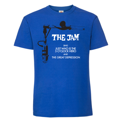 The Jam - Just Who is the 5 O'Clock Hero - Night Design