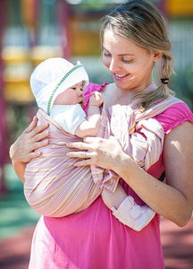 5992 Pink Mille Feuille Baby Ring Sling