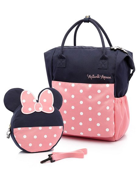 Minnie Mouse Nappy Bag (w/ a Toddler Bag )