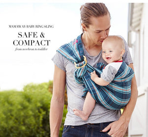 59959 Vintage Check Baby Ring Sling