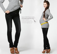 Load image into Gallery viewer, Skinny Look Maternity Jeggings