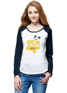 172885 Hello World Mickey Nursing Shirt