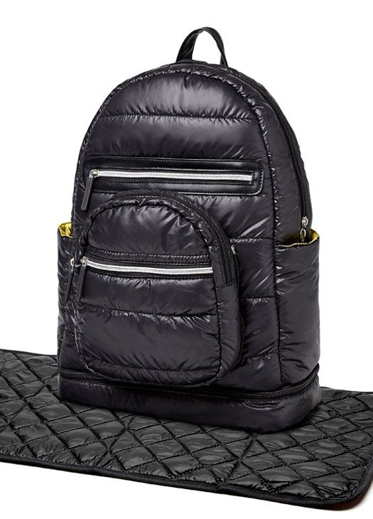 7003 (BLACK)  Mommy and Baby Nappy Back Pack