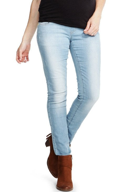 de0bcb2cd4cab Load image into Gallery viewer, Super Soft Stretch Skinny Leg Maternity  Jeans ...