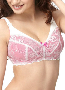 9885 (WHITE) Allure Wireless Maternity & Nursing Bra