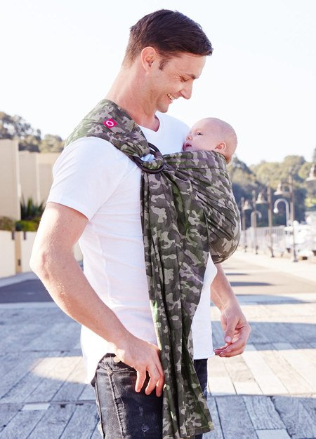 59962   Camouflage Baby Ring Sling