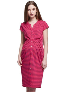 Jersey Swift Maternity & Nursing Dress