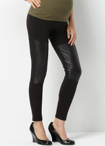 5fea6700fdb80 Faux Leather Maternity Leggings – Mamaway (Philippines)