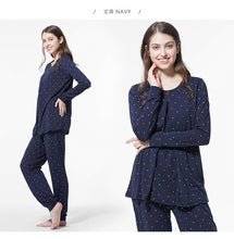 Load image into Gallery viewer, 160868N Minnie PJ Set (Navy)