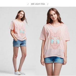 16858D Daisy Duck Maternity and Nursing Top