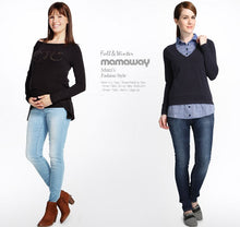 Load image into Gallery viewer, 13532 (BLUE) Super Soft Stretch Skinny Leg Maternity Jeans
