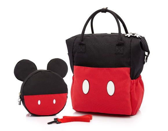 Mickey Mouse Nappy Bag (w/ a Toddler Bag )