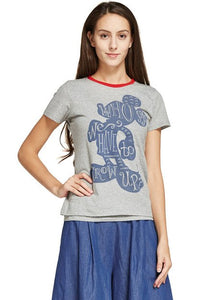171881Z Who says we have to grow old?  Mickey Maternity and Nursing Shirt