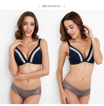 Load image into Gallery viewer, Deep V Flexiwire Nursing Bra