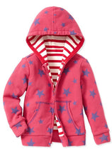 Load image into Gallery viewer, 14715 Pink Reversible Cotton Hoodie