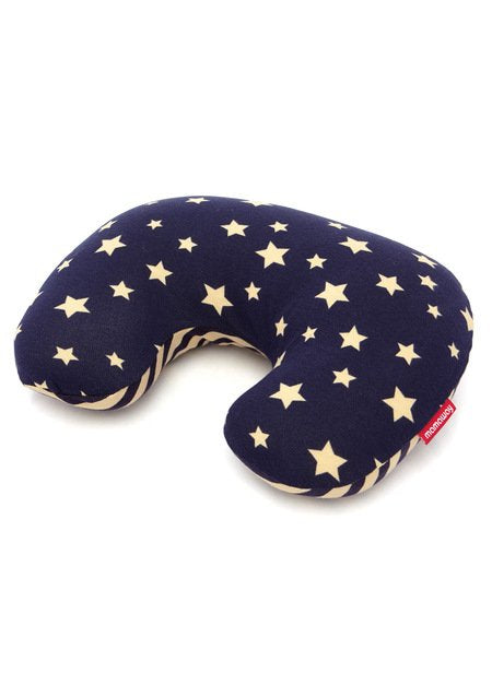 Antibacterial Neck Pillow Case - Navy Galaxy