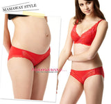 9883R (RED)  Flexiwire Shaping Lace Nursing Bra