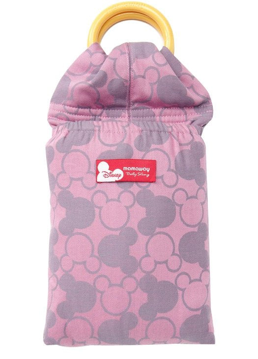 12812D Mickey Kaleidoscopes Baby Ring Sling- Pink