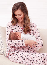 Load image into Gallery viewer, Minnie Design Maternity and Nursing Jammies