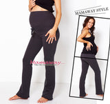 Fleece Lined Maternity Tracksuit Pants