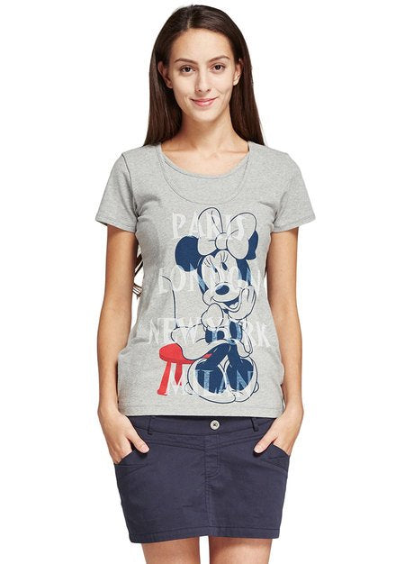 171870 Classic Minnie Shirt Maternity and Nursing Top