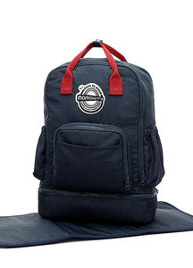 7005N Compact All-in-One Classic Nappy/Diaper Backpack - Navy
