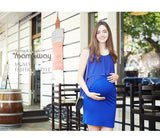 Elegant Maternity and Nursing Dress