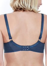 Load image into Gallery viewer, 6883 (NAVY) -Lace Embroidered Flexiwire Maternity & Nursing Bra